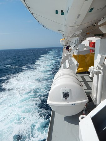 Balmoral: Photo C - swing across the North Sea.