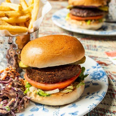 Vegan Beyond Meat Burger