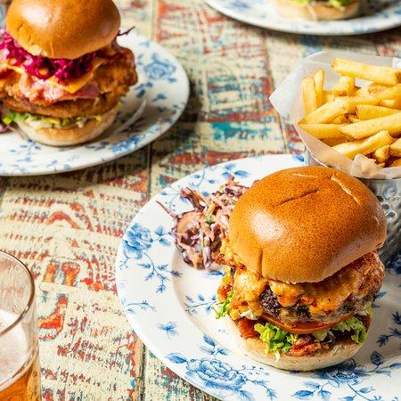 The Scarlet Pimpernel Burger