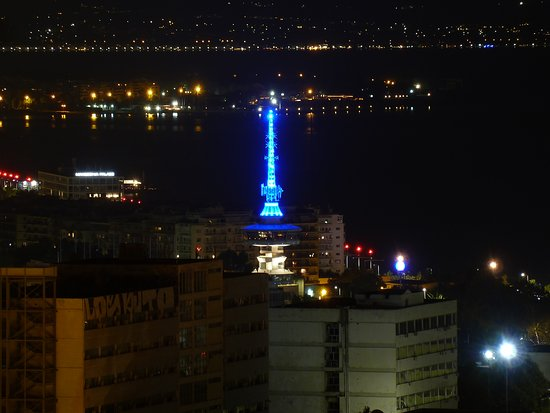 View of the telecommunications Tower