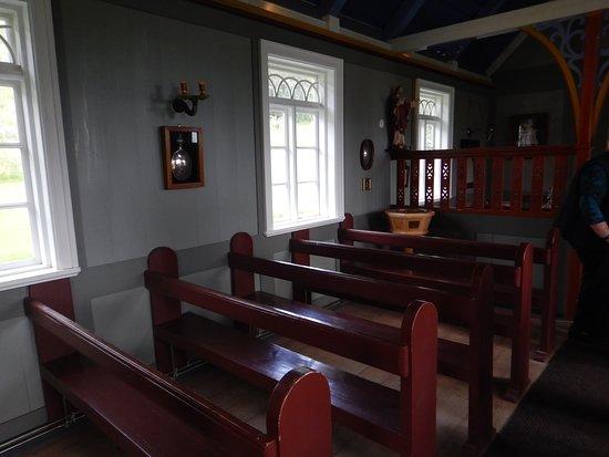 Skogar Museum: Bænke