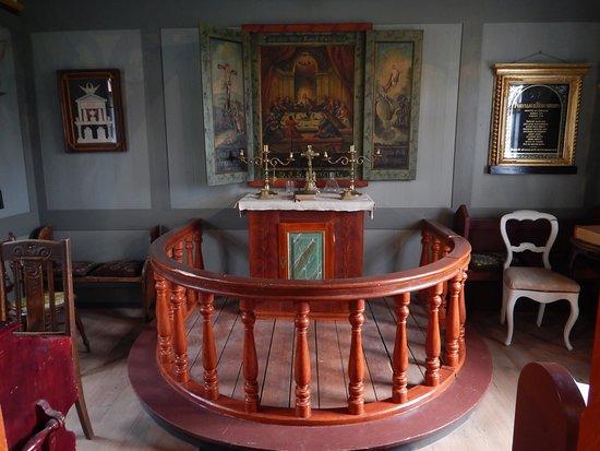 Skogar Museum: Alter