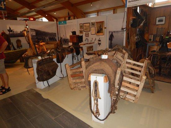 Skogar Museum: Rideudstyr