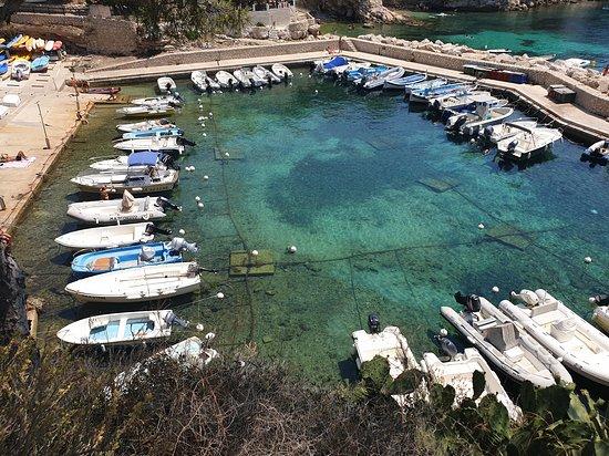 Calanque de Sormiou: Kleine Hafen