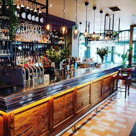 Our beautiful bar.