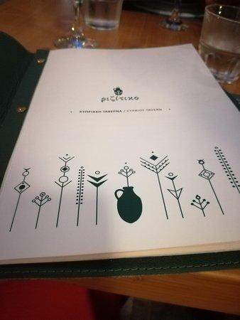 Rizitiko Tavern: La carte