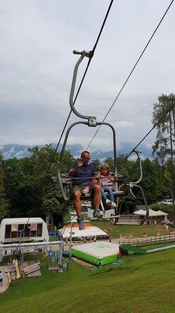 Straza Bled Summer Tobogganing: Skilift.