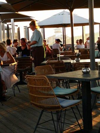 Brasserie Blvd: Heerlijk in de avondzon 25-8