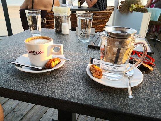 Brasserie Blvd: Top koffie , cappuccino met extra shot espresso