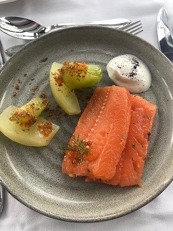 Lava Restaurant: Saumon fumé