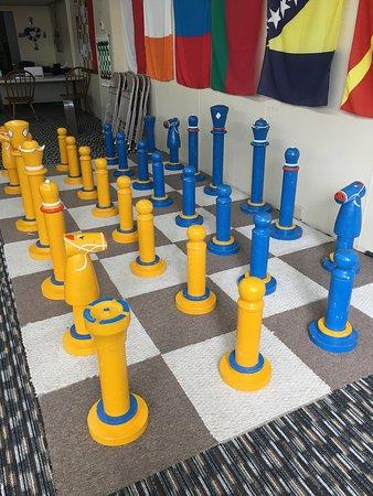 Lindsborg, KS: Large chess masterpieces