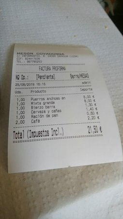 imagen Meson Covadonga en Sahagún