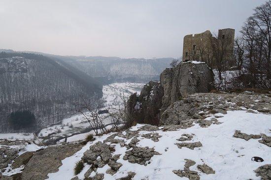 Reussenstein im Winter 2018