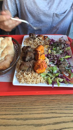 Big portions - this was 15-17$ if I recall. Quite expensive excluding drink.