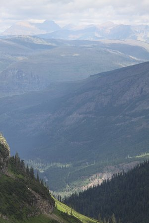 Glacier National Park: Highline trail