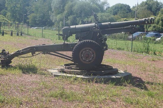 Fort Eben-Emael: one of the guns