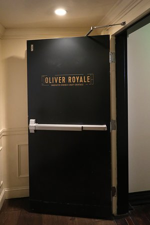The Oliver Hotel, 407 Union Ave, Knoxville, TN - On-property Dining at Oliver Royale - Entrance from Lobby