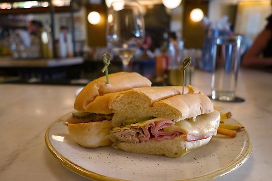 The Oliver Hotel, 407 Union Ave, Knoxville, TN - On-property Dining at Oliver Royale - Great Cubano Sandwich