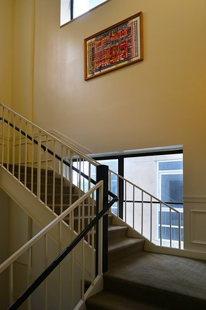 The Oliver Hotel, 407 Union Ave, Knoxville, TN - Lobby Stairway to Second Floor