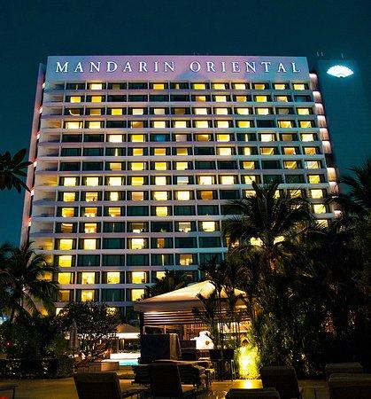 Mandarin Oriental, Singapore: View of the hotel