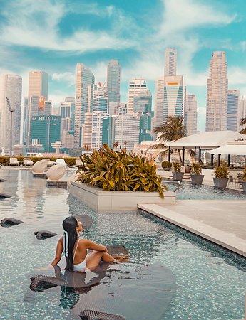 Mandarin Oriental, Singapore: Outdoor Pool
