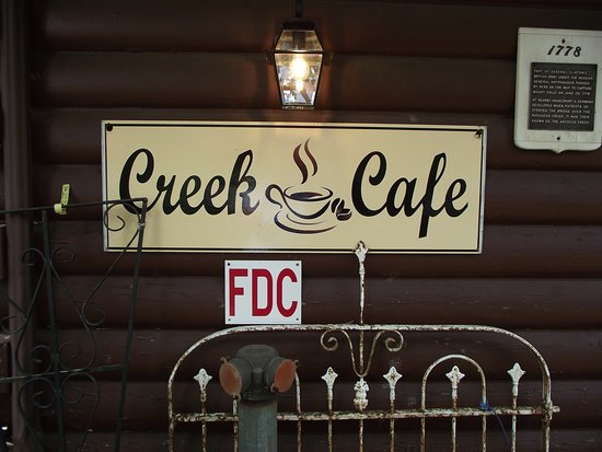 The Creek Cafe & Gourmet Market: NJ - MOUNT LAUREL – THE CREEK CAFÉ – SIGN OUT FRONT