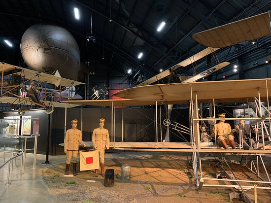 Museo nazionale della U.S. Air Force: History of flight, home of the Wright Brothers