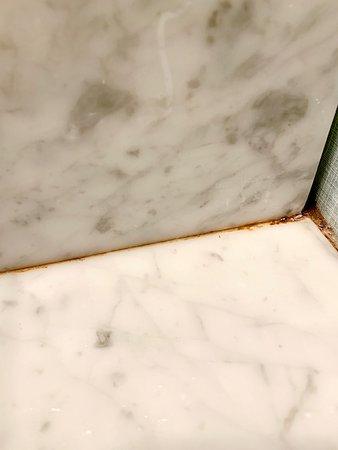 Mildew/Mold around sink counter tops.
