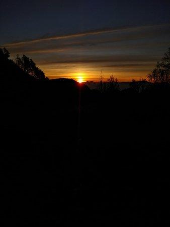 1 Day Trip Mount Bromo Sunrise Tour - From Surabaya: Dawn at a hill top near mount bromo