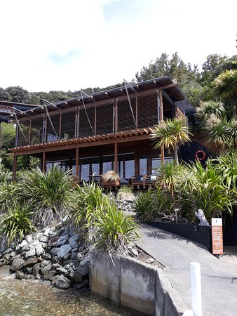 Bay of Many Coves, the Foredeck Restaurant