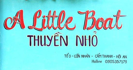 A Little Boat Hoi An