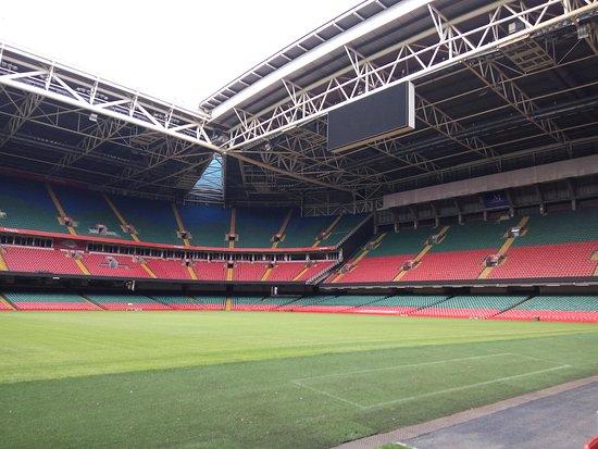 Principality Stadium: vista do relvado