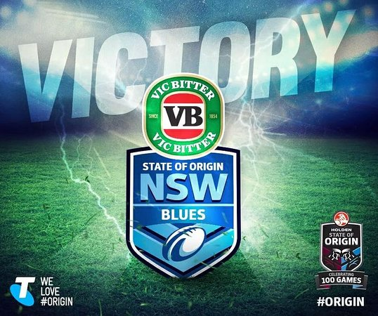watch state of origin on our big screen tv