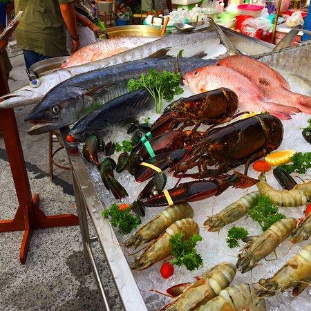 Amazing fresh seafood...