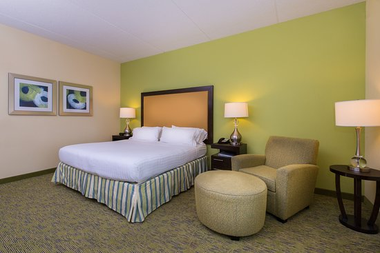 Holiday Inn Express & Suites Dickson City-Scranton: Guest room