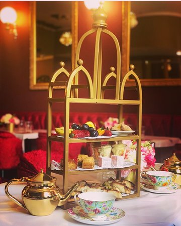 The Sultan Afternoon Tea $49 for one pp/ $80 for two pp
