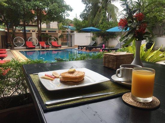 Wonderful hotel in Siem Reap, with superb a breakfast. Staff also very helpful.