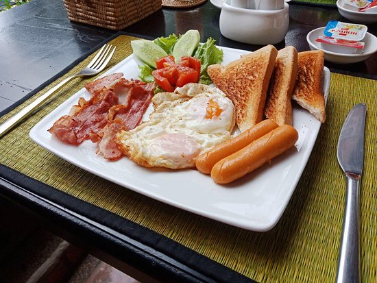 Very Superb American Breakfast! Highly Recommended!
