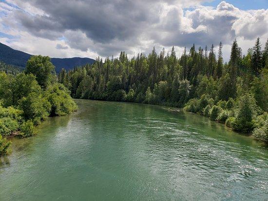Vavenby, Canada: Tum Tum river near Clearwater BC, Canada