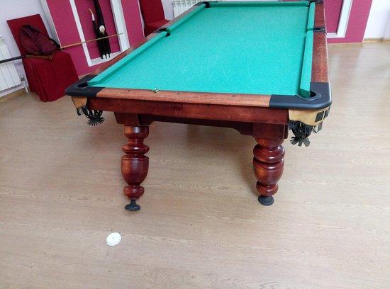 Если играть в бильярд нельзя, зачем вообще там этот стол?