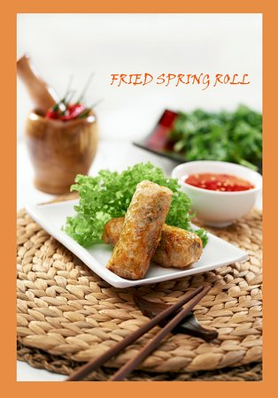 Little Hanoi: Fried Spring Roll Traditional Vietnamese Food