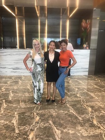 I came with my Daughter from the UK and Wife who is from Thailand.  They both loved the Hotel.   This photo is in the reception area.  The staff here are 'simply the best'.