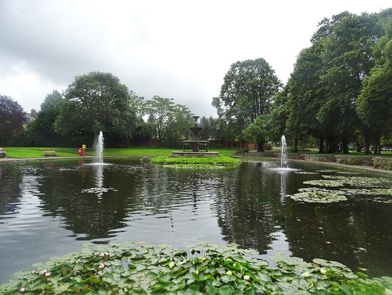 The museum is situated in the park