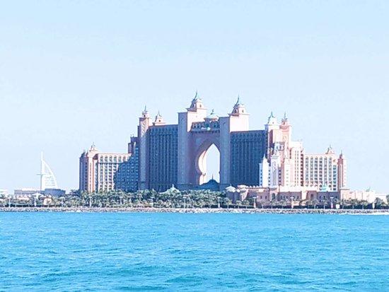 Dubai Luxusyacht Sightseeing: Atlantis the Palm