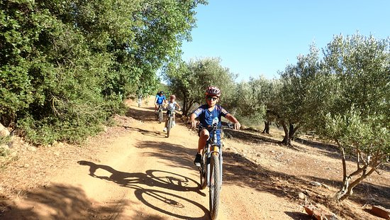 CANYONS & VILLAGES, the best mountain bike tour for all the family. Offer your Kids the ultimate adventure of their Hollidays in Crete