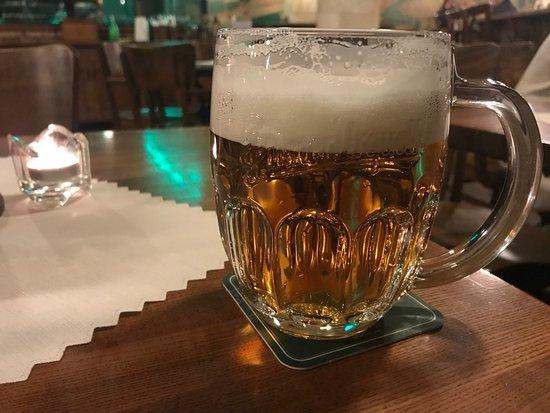 Beer at Zlaty Klas