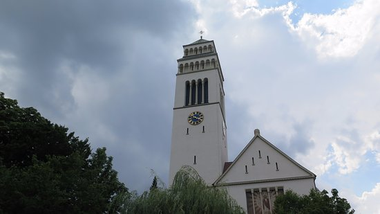 St.Johannes Nepomuk: Torre de la iglesia