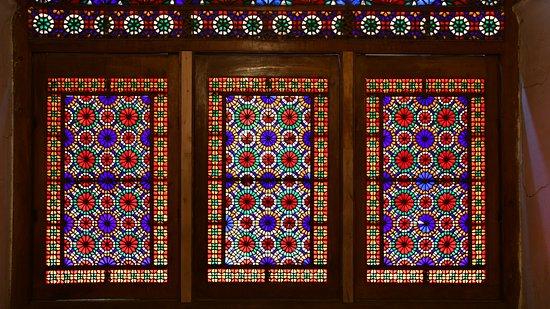 Yazd Province, Iran: #Yazd ( Sash window )-Dowlat Abad Garden