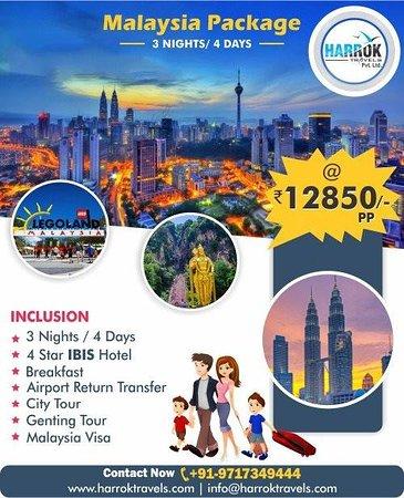 Harrok Travels: Malaysia Holidays Package