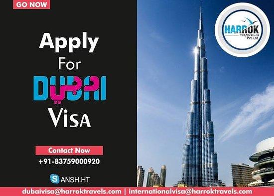 Harrok Travels: Dubai Visa